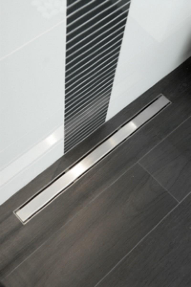 Maak plaats voor elegantie en design kijk naar de realisaties met carrodrain vm inloopdouche - Tuin schuur leroy merlin ...